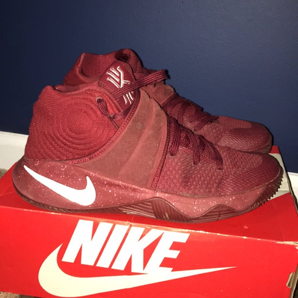 """eb94f90b4b6 48% off Nike Other - ❌SOLD❌ NIKE KYRIE 2 """"DEEP RED VELVET"""" SZ 9.5 ..."""